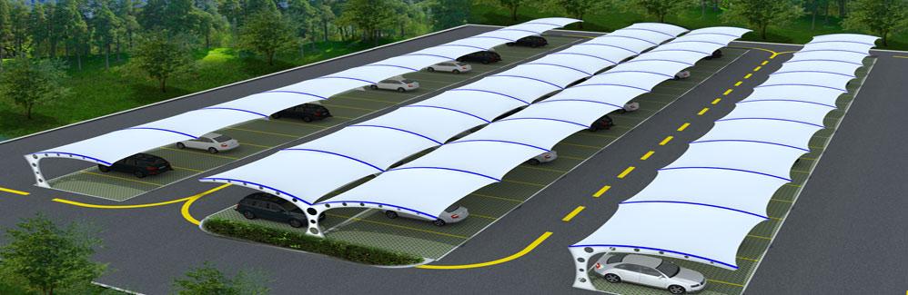 巨型索膜结构屋顶膜面长约843米,最宽处约97米,膜面展开面积达7.